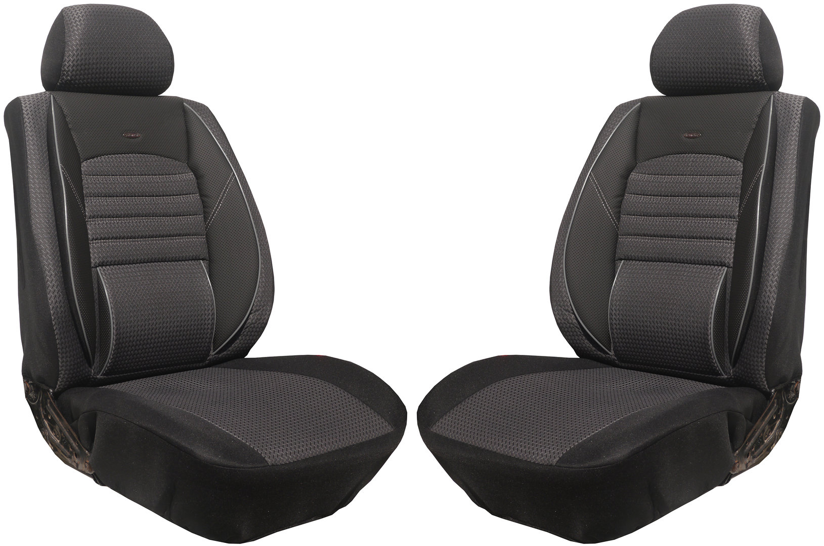 Car seat covers mercedes vito w447 for two single front seats for Housse siege auto