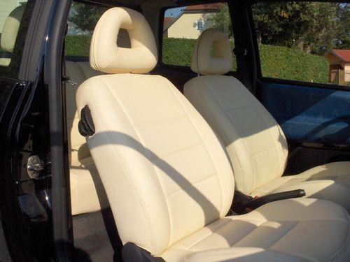 VW Lupo Sitzbezüge, Lederausstattung, Ledersitze