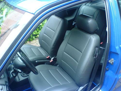VW Polo 6N2 Normal Sitzbezüge, Lederausstattung, Ledersitze