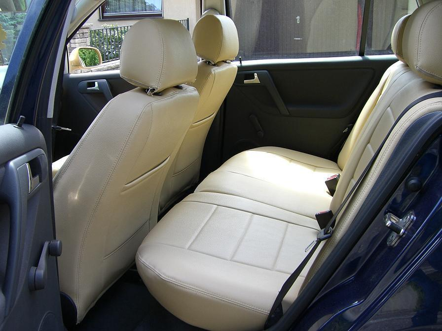 VW Polo 6N2 Normal Artificial Leather Seat Covers