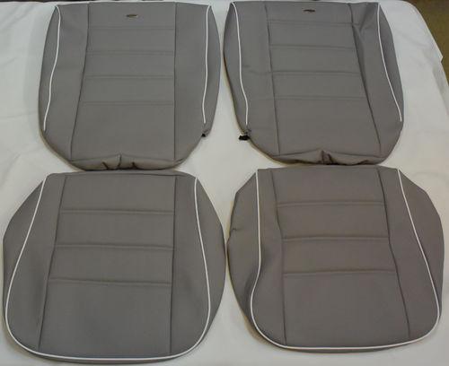 VW Käfer Limousine 08/67 - 07/72 Maß Sitzbezüge in grau