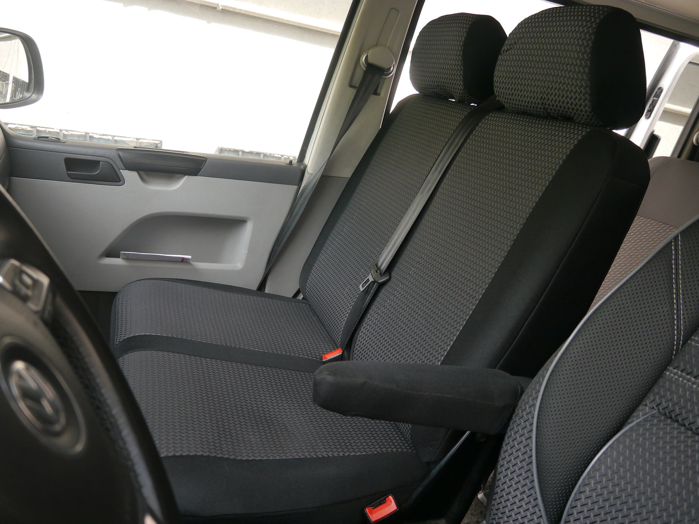 Sitzbezüge Schonbezüge VW T5 Multivan Fahrersitz und Doppelbank