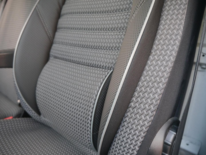 Sitzbezüge Schonbezüge VW T5 Pritsche für zwei Einzelsitze