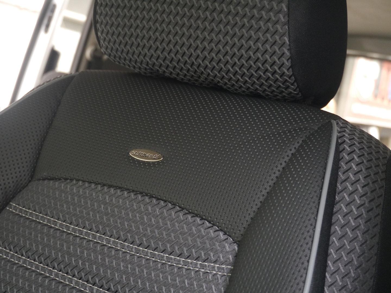 Sitzbezüge Schonbezüge VW T6 Caravelle für zwei Einzelsitze
