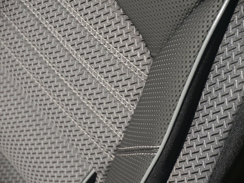 Housses de siège VW T6 Transporter pour siège conducteur + banque