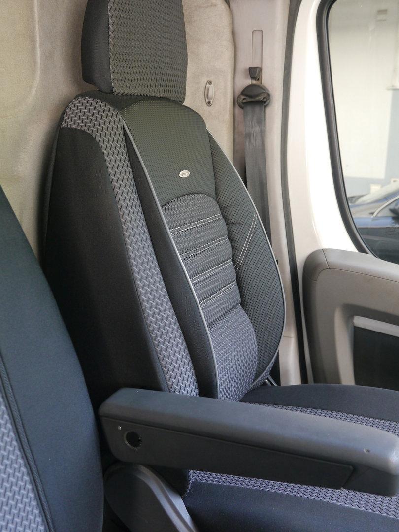 Housses de siège Fiat Ducato III pour siège conducteur et banque