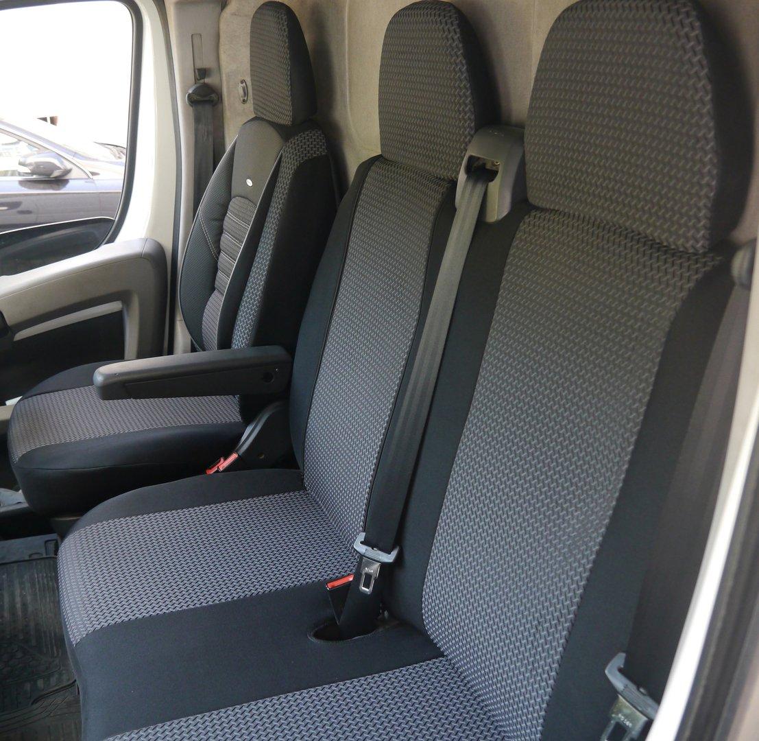 Sitzbezüge Schonbezüge Volkswagen Crafter Fahrersitz + Doppelbank