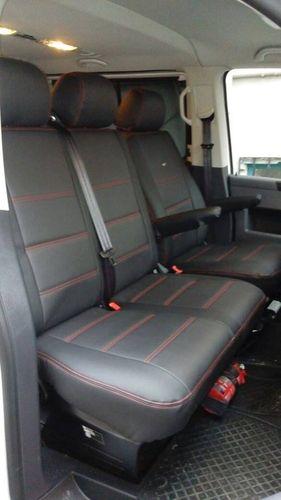 Sitzbezüge Schonbezüge VW T6 Caravelle für neun Sitze