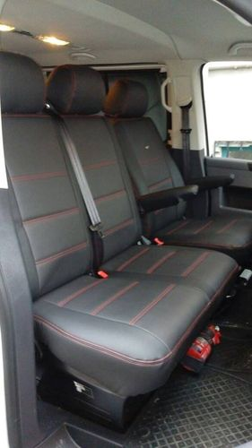 Car seat covers VW T5 Caravelle for nine seats