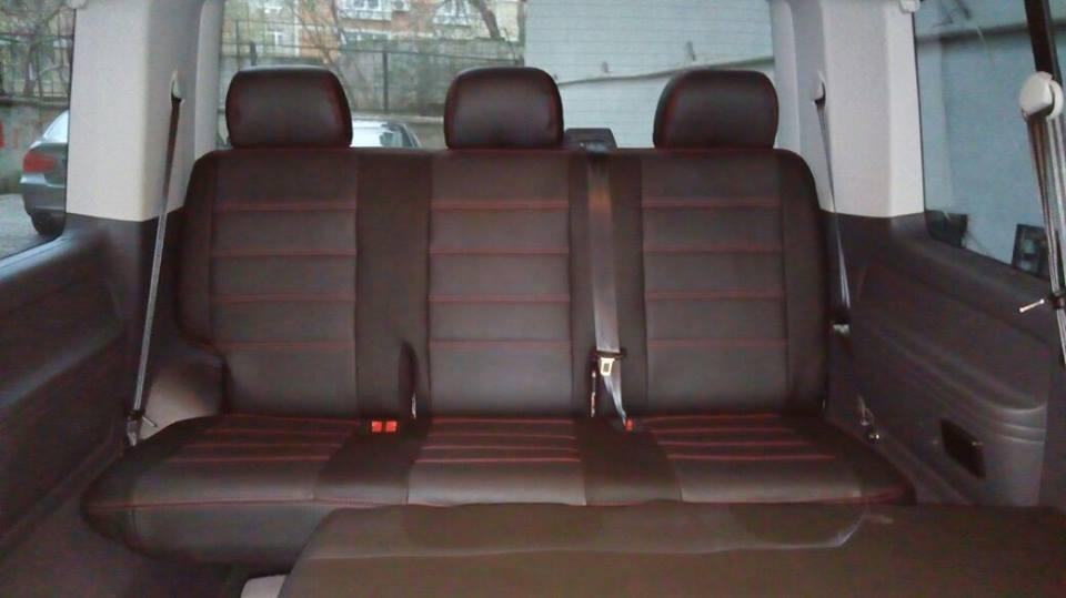 Sitzbezüge Schonbezüge VW T6 Kombi für neun Sitze