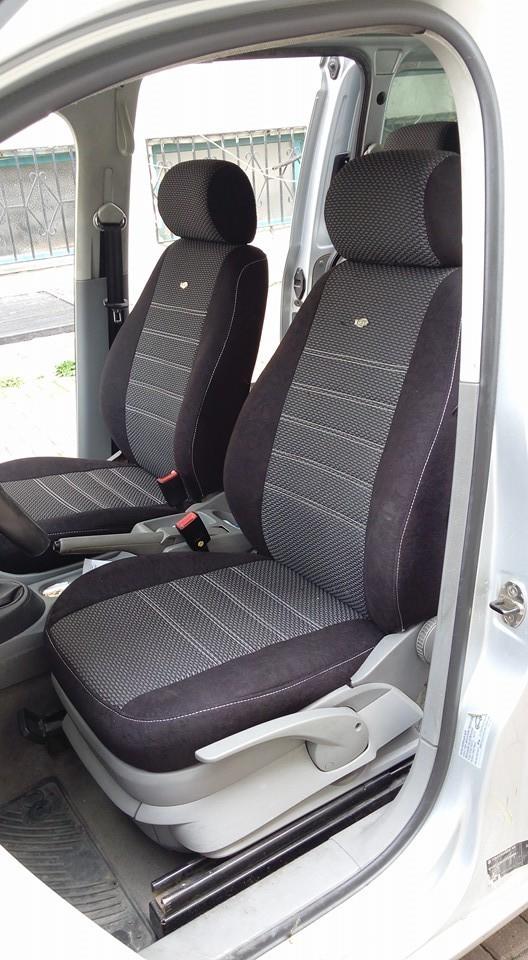 sitzbez ge schonbez ge vw caddy 2k f r vorne und hinten. Black Bedroom Furniture Sets. Home Design Ideas
