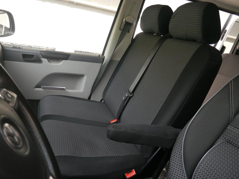 Autositzbezüge VW T5 Multivan Fahrersitz und 2er Bank Sitzbezüge