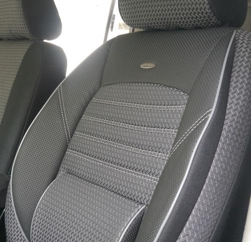 Autoschonbezüge VW T6 Caravelle für zwei Einzelsitze Sitzbezüge