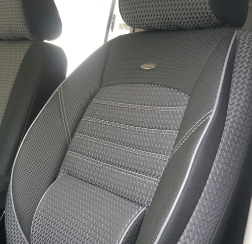 Auto seat covers VW T6 Transporter for two single front seats