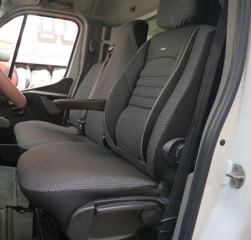 Autositzbezüge Opel Movano B Fahrersitz und Bank Sitzbezüge