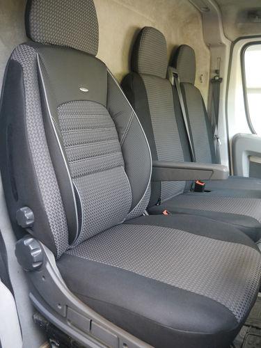 Autositzbezüge Citroen Jumper II Fahrersitz Doppelbank Sitzbezüge
