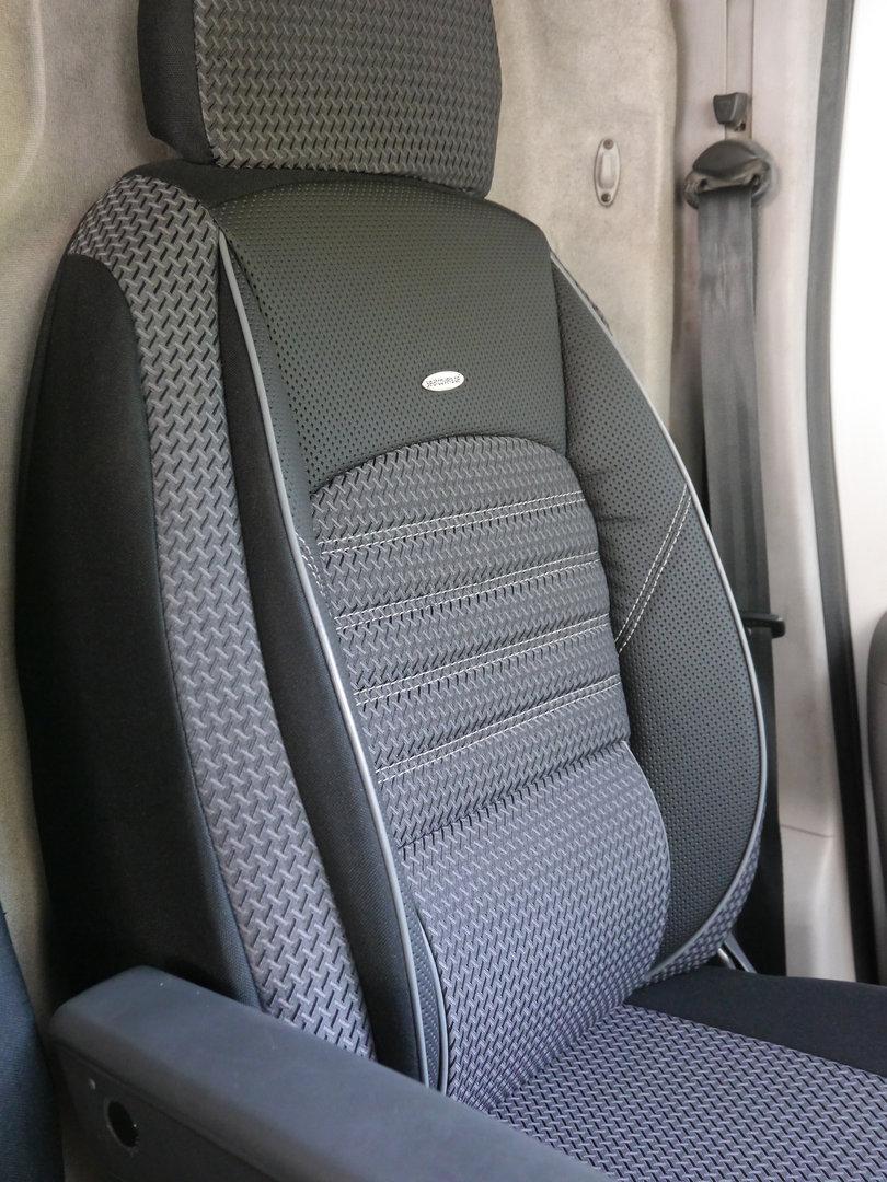 Autositzbezüge Mercedes Vito W447 Fahrersitz + Bank Sitzbezüge