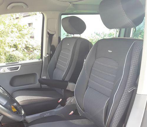 Sitzbezüge Schonbezüge VW T6 Multivan für 8 Sitze