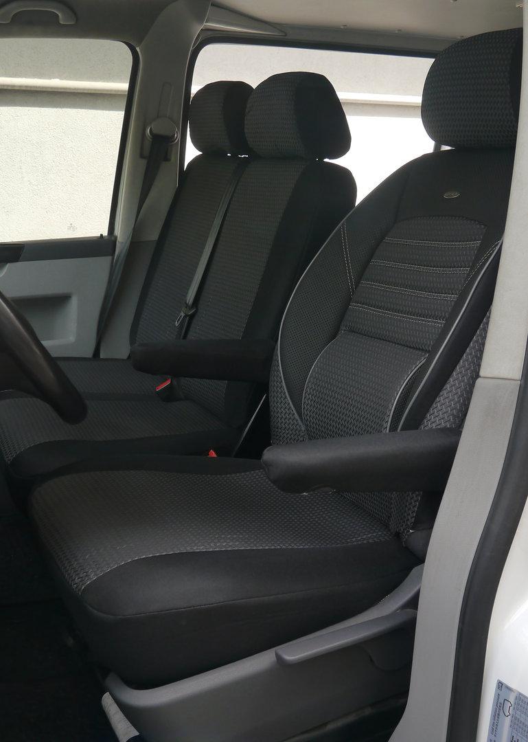 si ge de voiture couvre vw t5 kastenwagen pour 9 si ges. Black Bedroom Furniture Sets. Home Design Ideas
