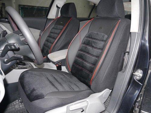 Sitzbezüge Schonbezüge Autositzbezüge für Audi A4 (B6) No4