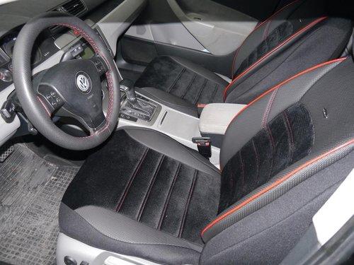 Sitzbezüge Schonbezüge Autositzbezüge für Audi A4 Avant (B6) No4