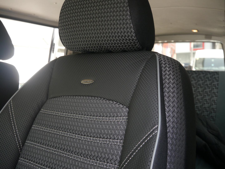 Sitzbezüge VW T5 California zwei Einzelsitze und Dreierbank