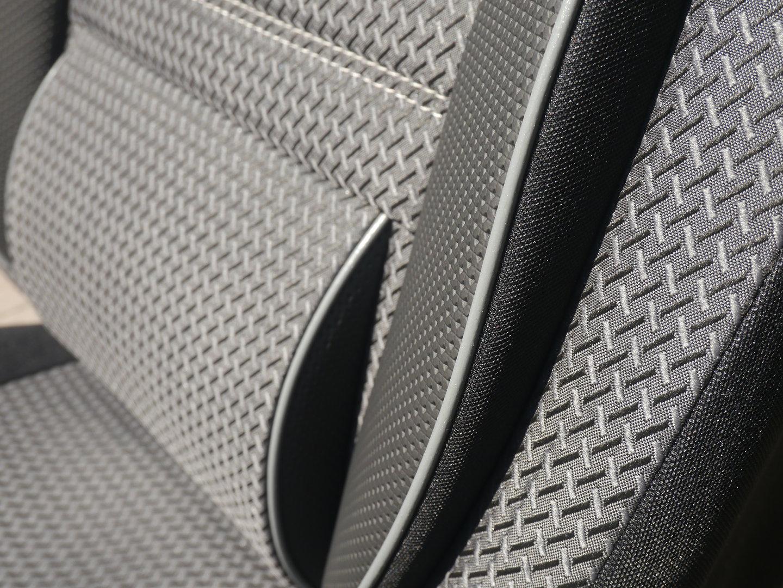 Schonbezüge VW T6 California zwei Einzelsitze und Dreierbank