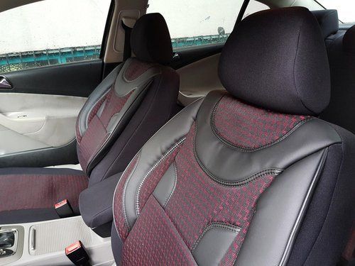 Car seat covers protectors Brilliance BS6 black-red NO21 complete