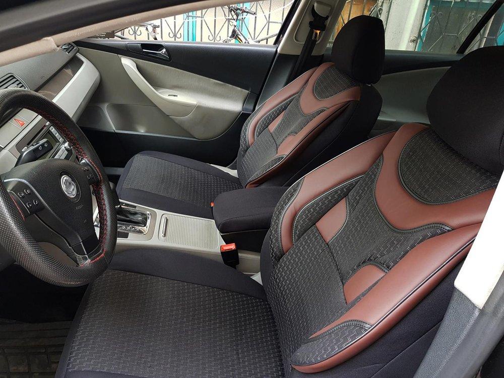 Car Seat Covers Protectors Skoda Rapid Spaceback Black Red NO19 Complete