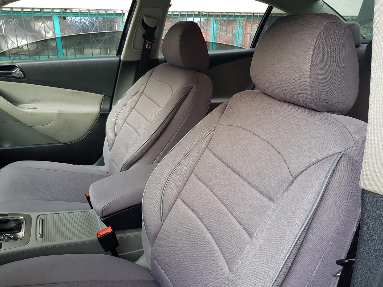 Car seat covers fit Volvo XC90 full set black grey