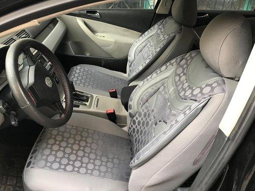 Sitzbezüge Schonbezüge Audi A1(GB) grau V2 Vordersitze