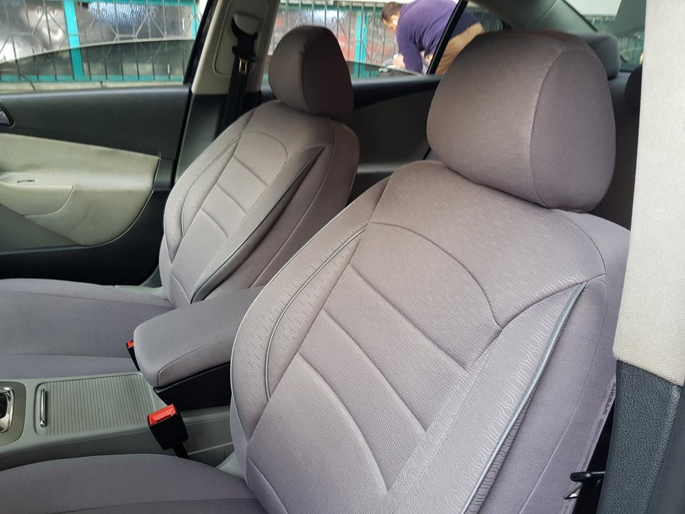 Car Seat Covers Protectors Bmw 3 Series E90 Grey V8 Front Seats