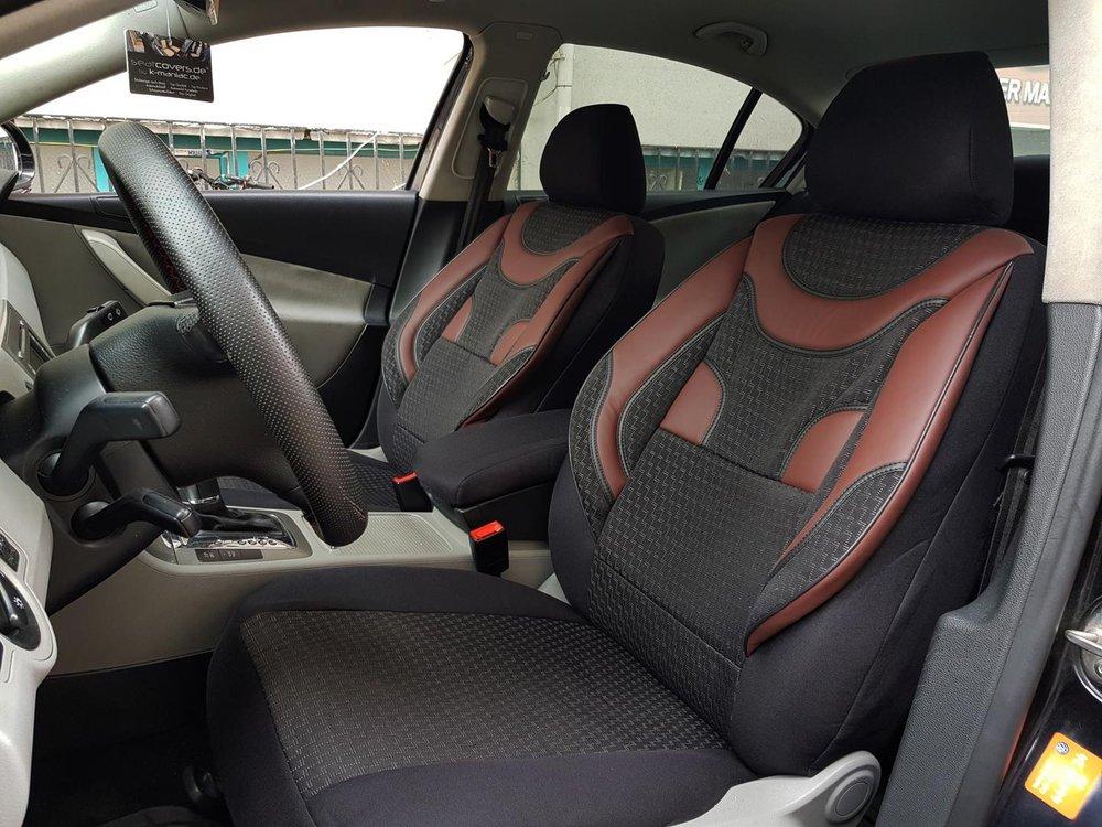 3aae7bec34b0 Car seat covers protectors BMW 5 Series Gran Turismo(F07) black-red ...