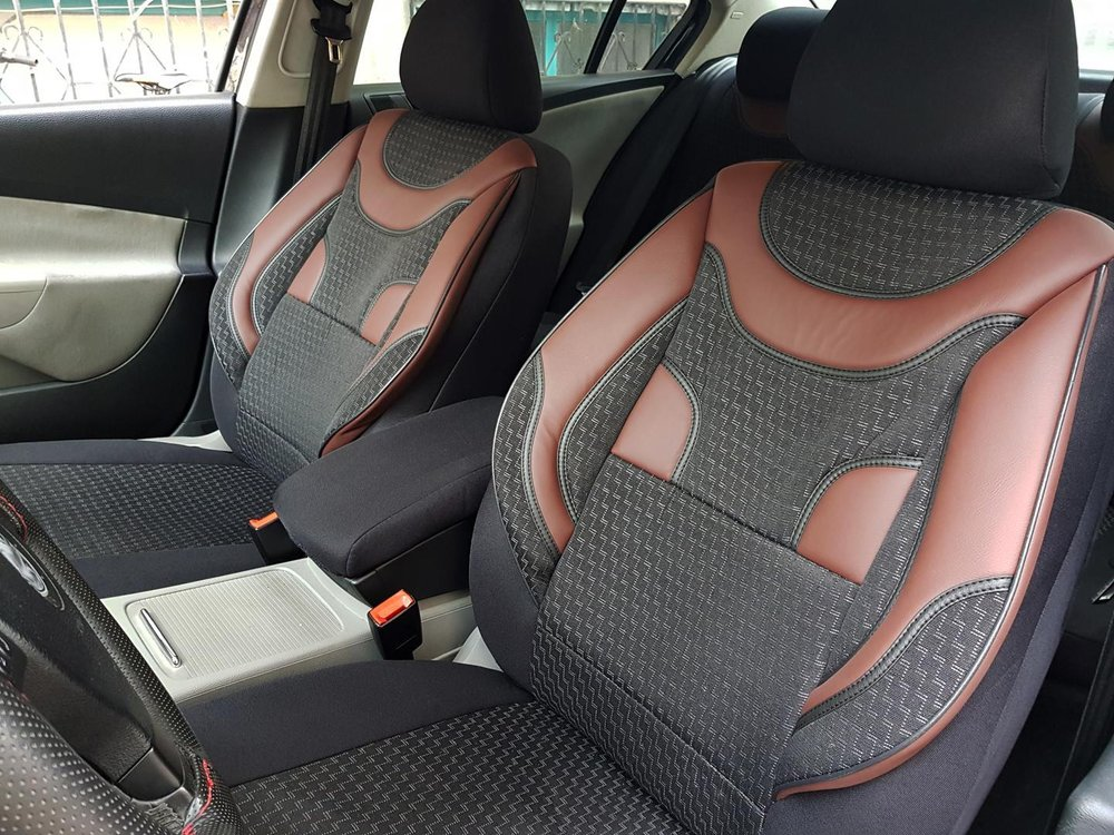 Admirable Car Seat Covers Protectors Kia Optima Black Red V3 Front Seats Theyellowbook Wood Chair Design Ideas Theyellowbookinfo