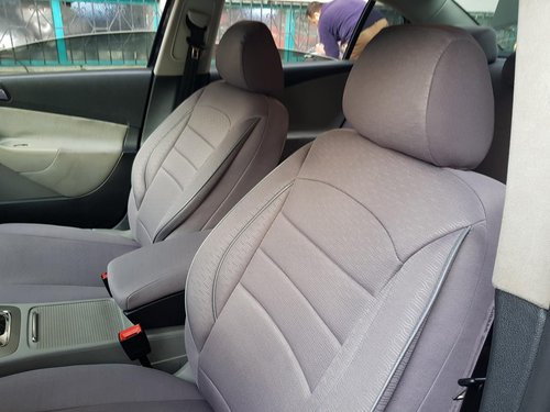 Car seat covers protectors Lancia Musa grey V8 front seats