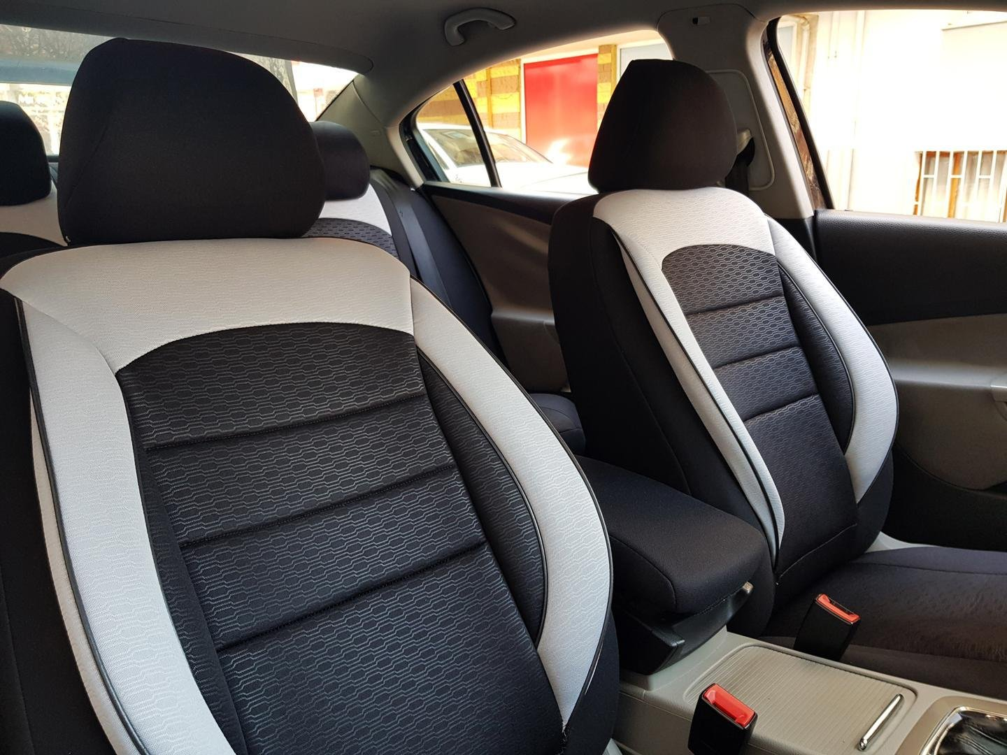 Car Seat Covers Protectors Land Rover Range Rover Ii Black White