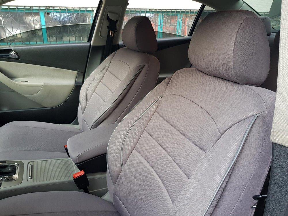 Excellent Car Seat Covers Protectors Nissan Almera I Grey V8 Front Seats Machost Co Dining Chair Design Ideas Machostcouk