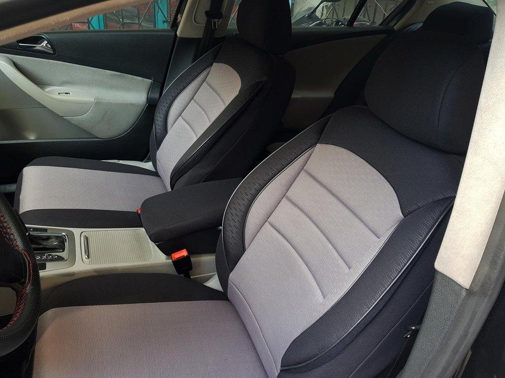 Excellent Car Seat Covers Protectors Nissan Maxima Qx V Black Grey V7 Front Seats Machost Co Dining Chair Design Ideas Machostcouk