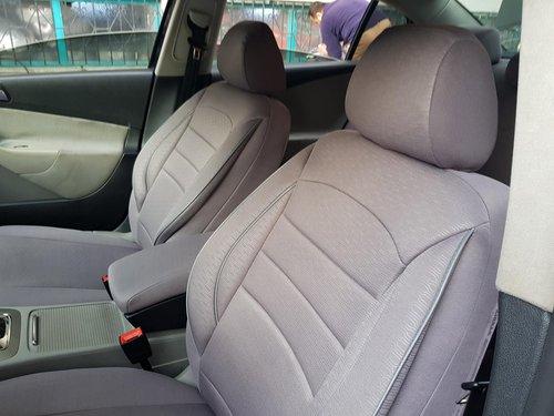 Sitzbezüge Schonbezüge VW Golf VIII grau V8 Vordersitze