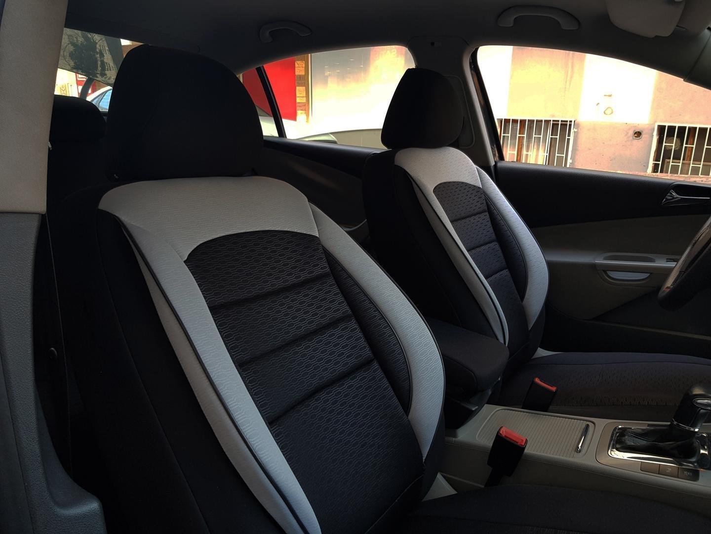 Car Seat Covers Protectors Audi A8 D3 Black Grey No27 Complete