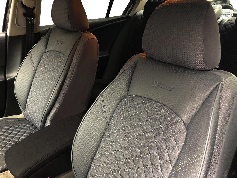 Renault Captur Full Set Luxury LEATHERETTE Car Seat Covers Protectors